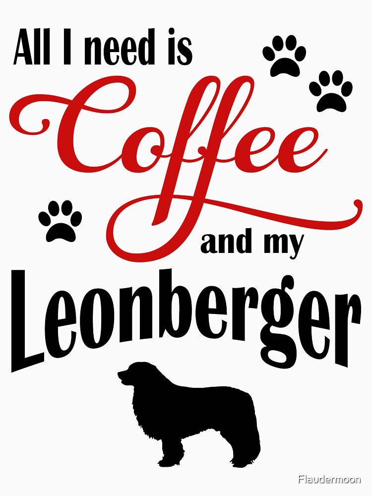 Coffee and my Leonberger by Flaudermoon