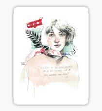 THE SPIRAL elenagarnu Glossy Sticker