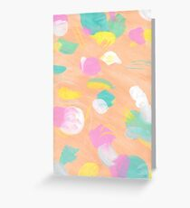 Abstract 2163 Greeting Card