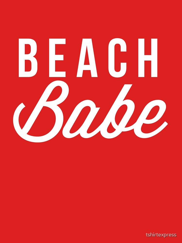 Beach babe by tshirtexpress