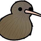 Too Many Birds! - New Zealand Kiwi by MaddeMichael