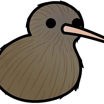 ¡Demasiadas aves! - Nueva Zelanda Kiwi de MaddeMichael