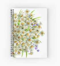 Chamomile Spiral Notebook