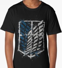AoT Recon Corps Crest - Paint Splatter Long T-Shirt