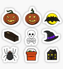 Halloween Icons Sticker