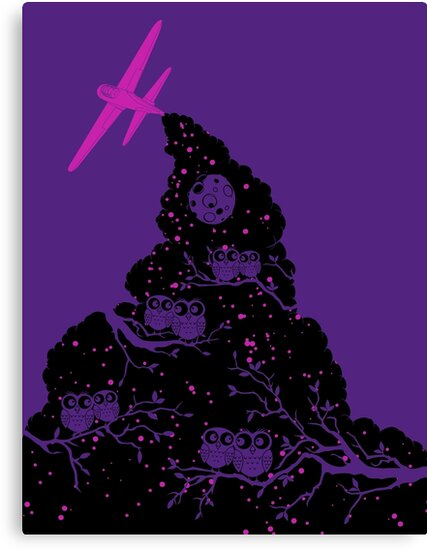 Night Flight Lovers by freeagent08