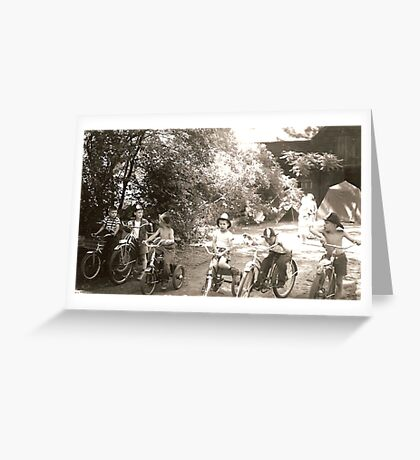 The Bicycle Club Greeting Card
