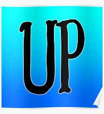 Up Typography Poster