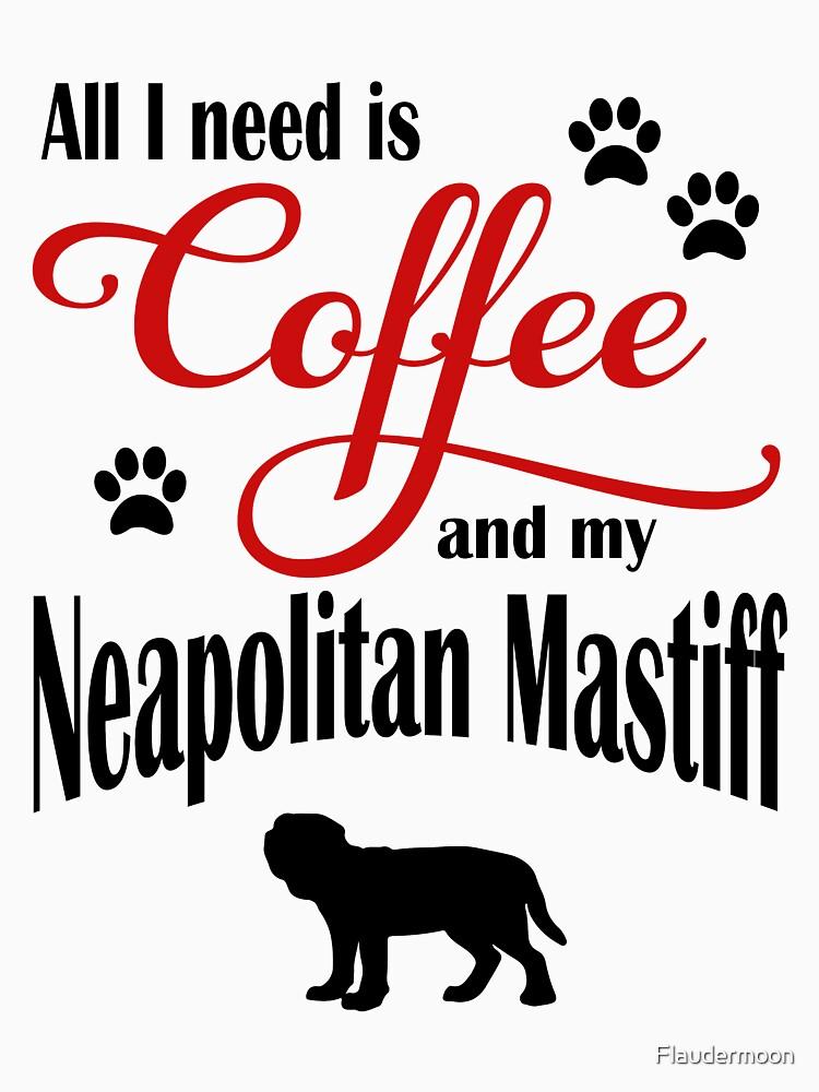 Coffee and my Neopolitan Mastiff by Flaudermoon