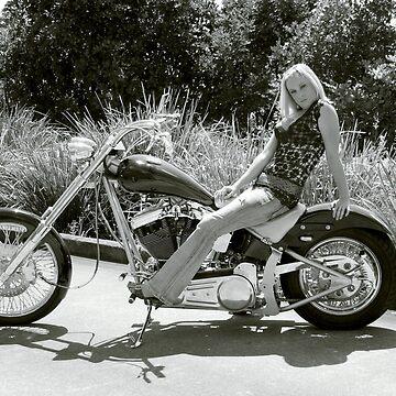 Biker Babe by talondi