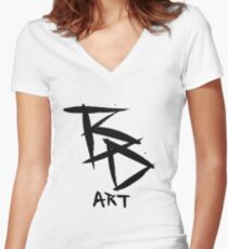 The Logo Women's Fitted V-Neck T-Shirt