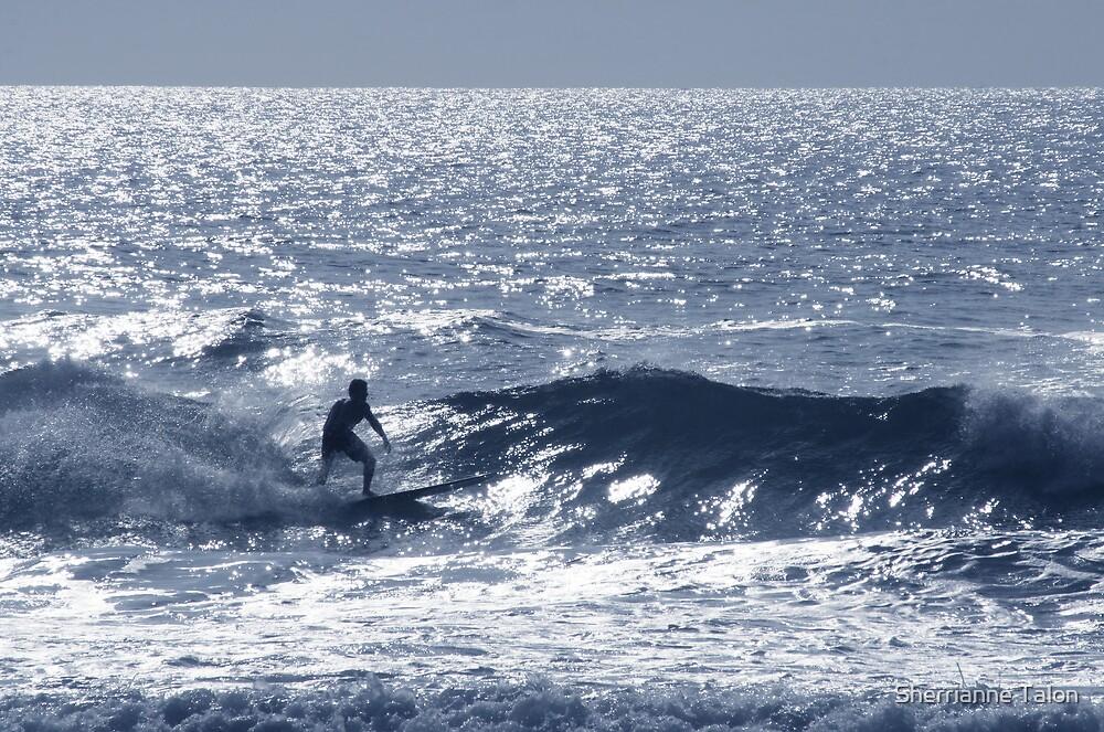 Blue Surf by Sherrianne Talon