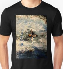 ship in stormy seas T-Shirt