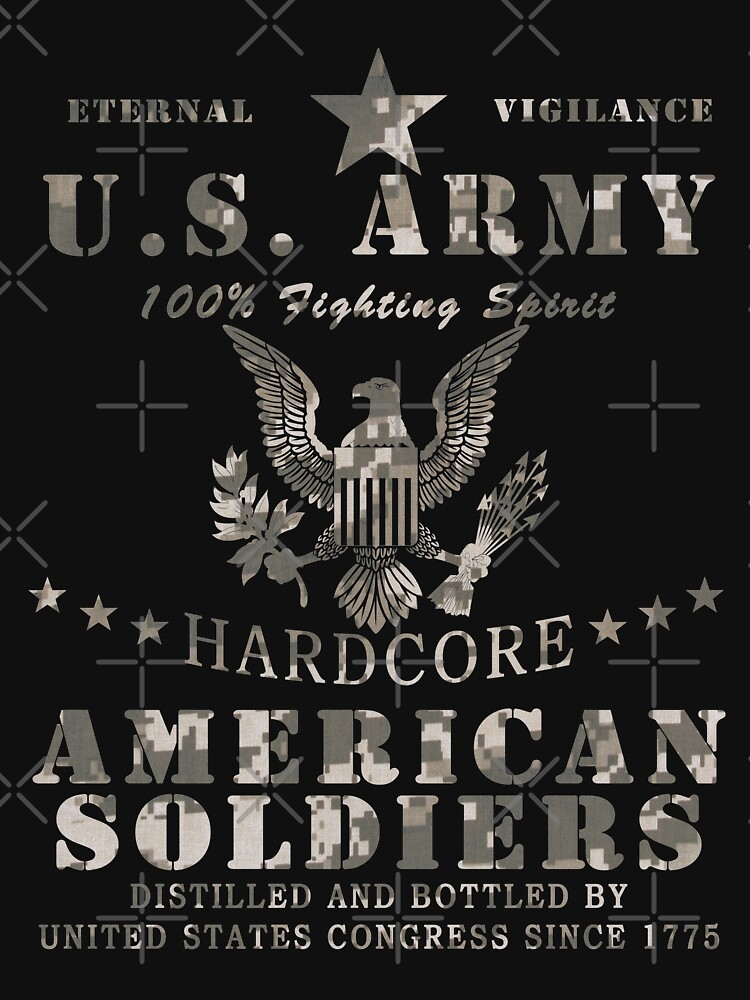 United States Army Hardcore American Soldiers by ThreadsNouveau
