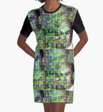 Albert Hoffman Stamp  Graphic T-Shirt Dress