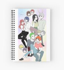 about us Spiral Notebook