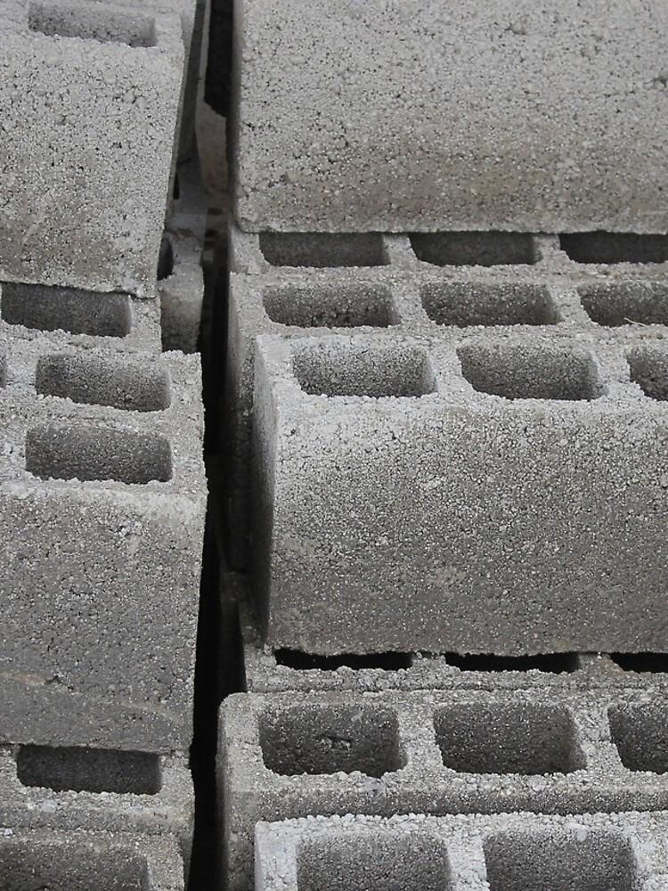 Betonblöcke auf einer Baustelle von rhamm