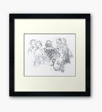fellowship Framed Print