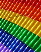 Neon Rainbow by Linda Sparks