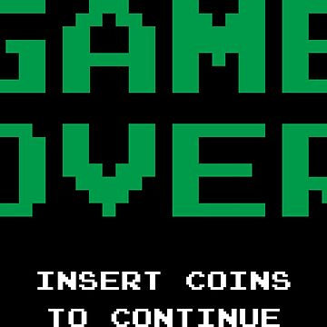 Game Over T-Shirt by Blvckstar