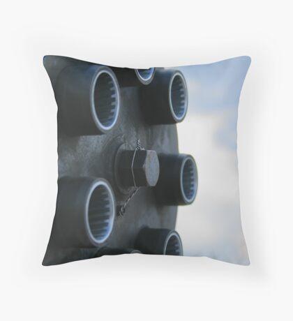 50mm. Throw Pillow