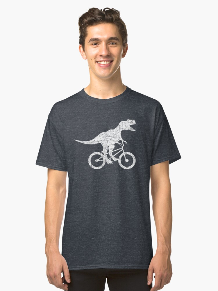 BMX Dino Classic T-Shirt Front