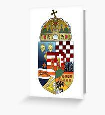 Hungarian Kingdom Greeting Card