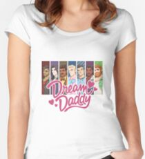 Dream Daddy Women's Fitted Scoop T-Shirt