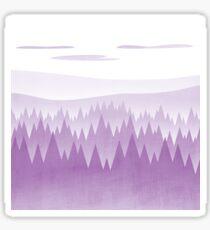 Purple Woods Sticker