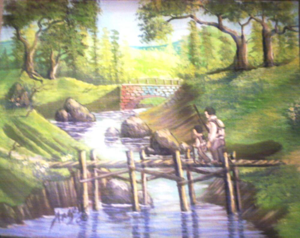 Bridge for two by Angel Ruiz