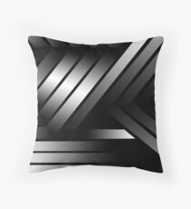 Modern Me Black Throw Pillow