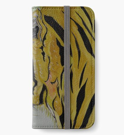 The Sad Tiger iPhone Wallet