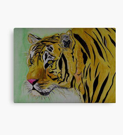 The Sad Tiger Canvas Print