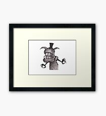 Tophat Rabbit Framed Print