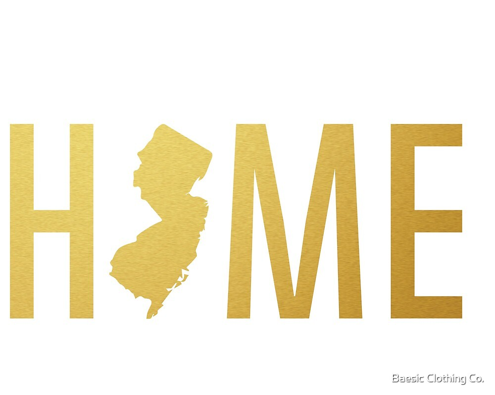 Home (New Jersey) Gold by Baesic Clothing Co.