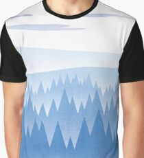 Blue Woods Graphic T-Shirt