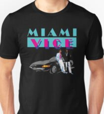 MIAMI VICE - RETRO 80s TV SERIES T-Shirt
