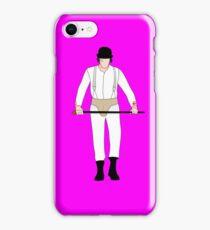 Alexander DeLarge iPhone Case/Skin