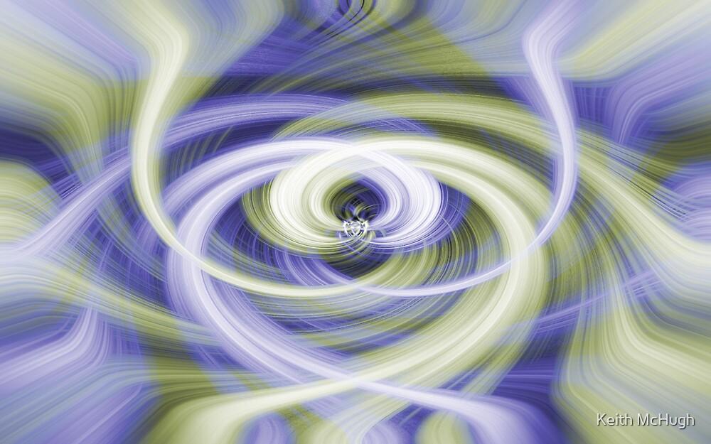 Blue Swirl by Keith McHugh