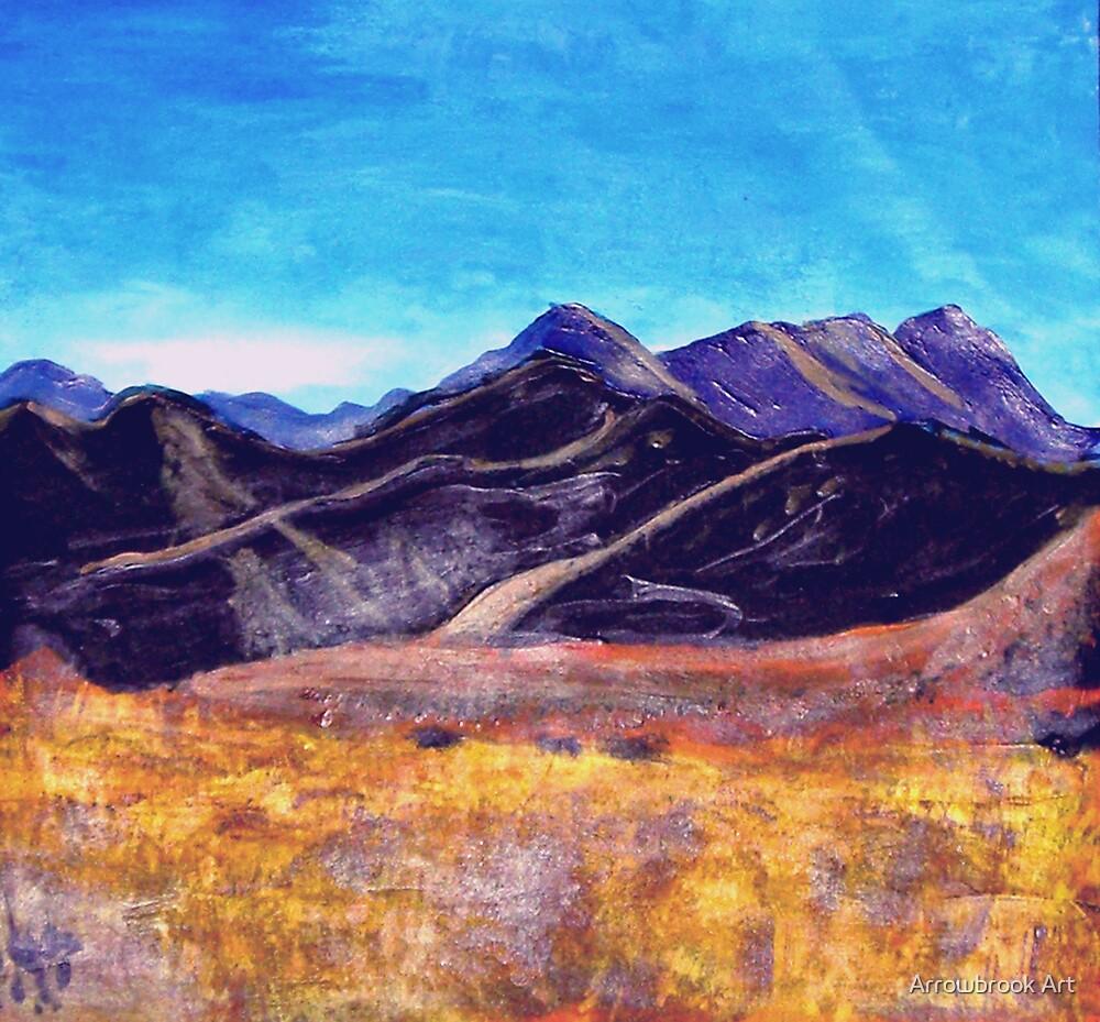 NZ Landscape - Hannah B by John Brotheridge