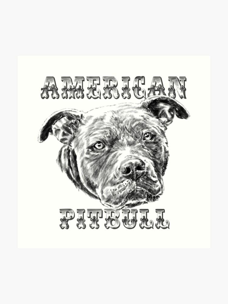 American Pitbull | Art Print