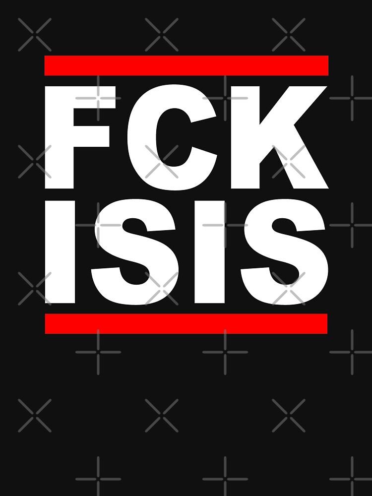 FCK ISIS White by undaememe