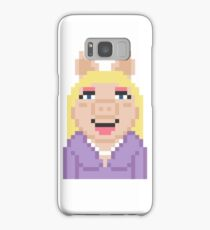 Miss Piggy The Muppets Pixel Character Samsung Galaxy Case/Skin