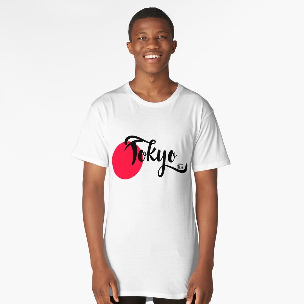 Tokyo Long T-Shirt Front