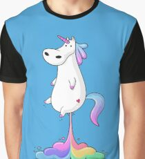 Unicorn Fart Graphic T-Shirt