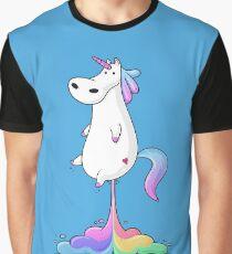 Unicorn Fart Graphic T-Shirt