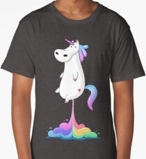 Unicorn Fart Long T-Shirt