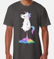 Camiseta larga Unicorn Fart