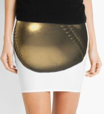 Golden Baseball Mini Skirt
