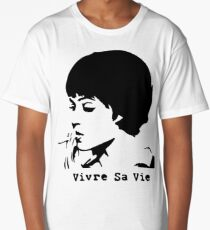 Vivre sa vie Long T-Shirt